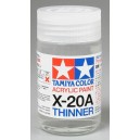 Thinner for acrylic paint X-20A. 46ml