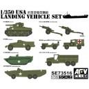 1/350 Landing Vehicle Set