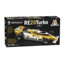 1/12 RENAULT RE 20 Turbo