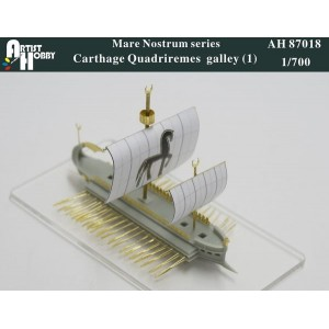1/700 Carthage Quadriremes galley