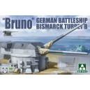"1/72 ""Bruno"" Bismarck Turret B"